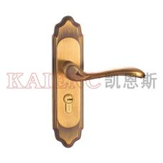 精品不锈钢执手锁 室内机械门锁 套装门锁