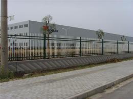 深圳厂房围墙护栏 室外铁艺围栏 栅栏厂家