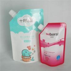 厂家批发洗衣液自立吸嘴袋 定制豆浆饮料液