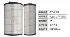 上海鴻曼空氣濾清器 pu2844三耳不帶絲扣