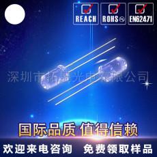 厂家直供3mm白光led直插灯珠 F3白色超高亮