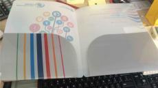 PP彩印文件套 訂做PP報告文件夾 二折文件套