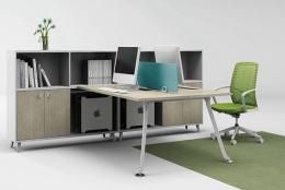 板式办公家具时尚屏风工作位厂家定制