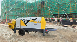 细石混凝土泵立致给客户提供更好的服务
