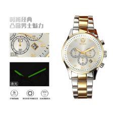 深圳鑫柏琴休闲 男士石英真皮表带时尚手表