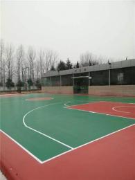 牟平塑膠籃球場材料供應