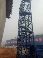 安全施工梯笼箱式施工梯笼墩柱安全梯笼
