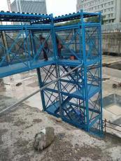 安全施工梯笼桥梁安全爬梯框架式安全梯笼厂