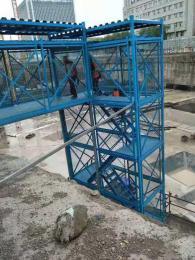 安全施工梯籠橋梁安全爬梯框架式安全梯籠廠
