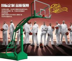 金華市義烏市電動液壓籃球架安裝步驟