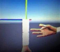 混合虚拟现实机器人unity3d数据手套
