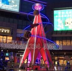 购物广场的星球轨道雕塑 科技馆仿真星球供
