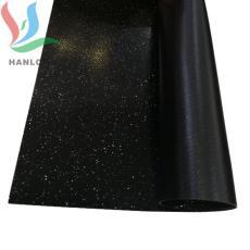 1000DPVC夹网布黑色PVC塑胶网格布 0.55厚