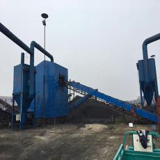 山西礦山碎石廠生產線布袋除塵器