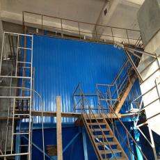 山西鋼鐵廠燒結機窯頭布袋除塵器