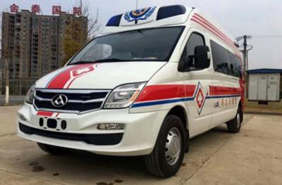 浙江杭州救护车厂家专卖电话