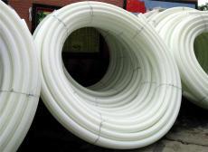 永州PE管材 白塑料管 HDPE水管 塑料盤管