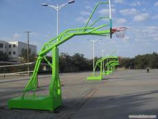 吉安市萬安縣電動液壓籃球架安裝方法