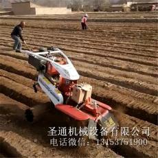 红薯栽种开沟起垄机 手扶式大葱培土机