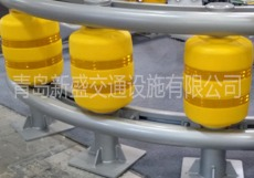 公路EVA防撞旋转桶  滚筒式防撞护栏