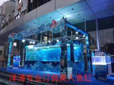 广州十大品牌大型玻璃鱼缸定制厂家