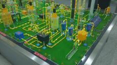 天然氣凈化模型