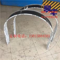 不锈钢半圆形拱门门套定做 弧形门框按尺寸
