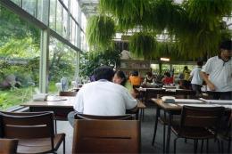 浙江湖州园林式生态温室餐厅酒店6000平成本