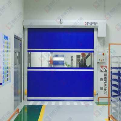 南京电子生产车间快速卷帘门