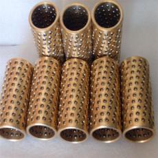 批发销售铜铝塑胶标准密集钢珠套微型铜珠套