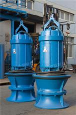井筒式潜水轴流泵安装方式