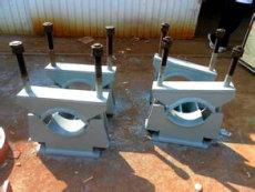 Z1管夾固定支座鍍鋅生產