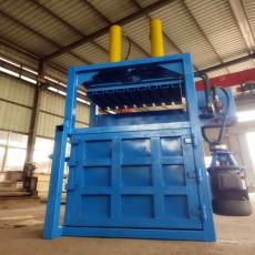 环保低碳废纸打包机使用灵活立式液压打包机