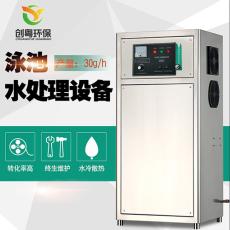 供应广州创粤30g臭氧发生器 游泳池水消毒机