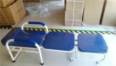 钢制陪护椅 折叠陪护床 坐躺多功能两用椅