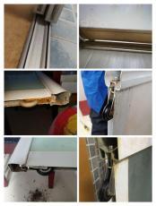 上海长宁区维修移门隔断移门木门淋浴房移门