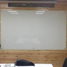 鋼化玻璃白板磁性辦公室教學培訓黑板綠板