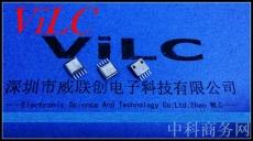 夹板0.8-1.0 MICRO 5P USB母座-卷边 不锈钢