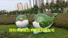 深圳玻璃钢卡通造型海豚鲸鱼雕塑报价厂家