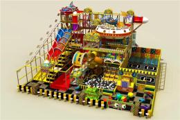 长沙百万球池 儿童大滑梯 互动投影设备厂家