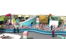 长沙儿童游乐设施 室内大蹦床 滑梯生产厂家
