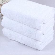 酒店洗浴一次性白毛巾