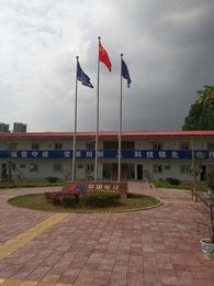 增城工业区不锈钢旗杆定制 工厂国旗杆安装