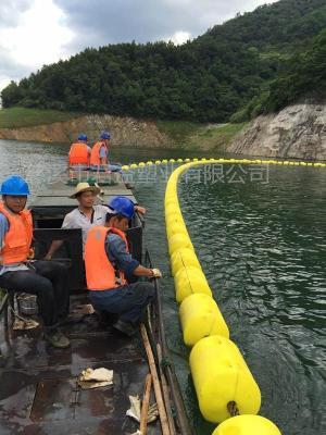 河道浮管自浮式拦污漂排价格