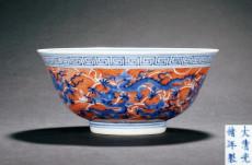 清青花云龙纹碗收藏价值分析