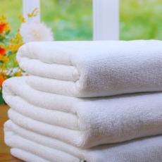 酒店洗浴纯棉白毛巾 厂家直销