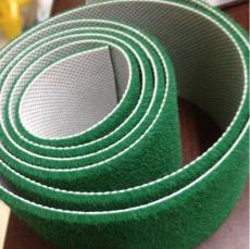 绿色糙面带 羊毛绒布包棍带