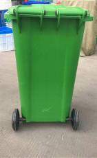 120升移动环卫塑料垃圾桶