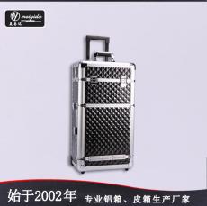 东莞美易达厂家直销多层美容美发拉杆化妆箱