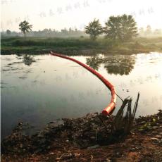 湖面漂浮物拦截浮体浮式拦污漂